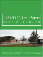 1121/1123 Leslie Street Site Planning