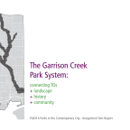 The Garrison Creek Park System